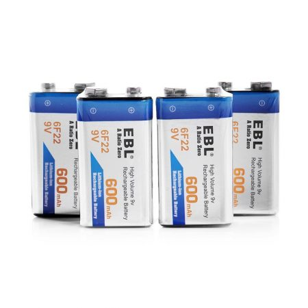 EBL 6F22 9V Rechargeable Battery High Capacity