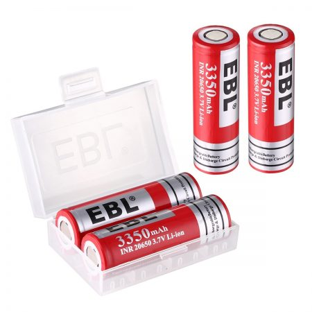 3350mAh 20650 3.7 V Rechargeable Lithium Battery Low Self Discharge