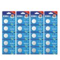ERL Mercury Free Lithium Coin Button Cell Batteries CR2025 Watch Electronic 3V, 20-Count