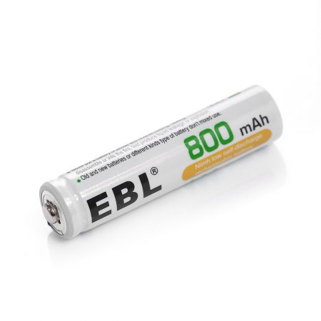 800mAh Button Top AAA Rechargeable Cell