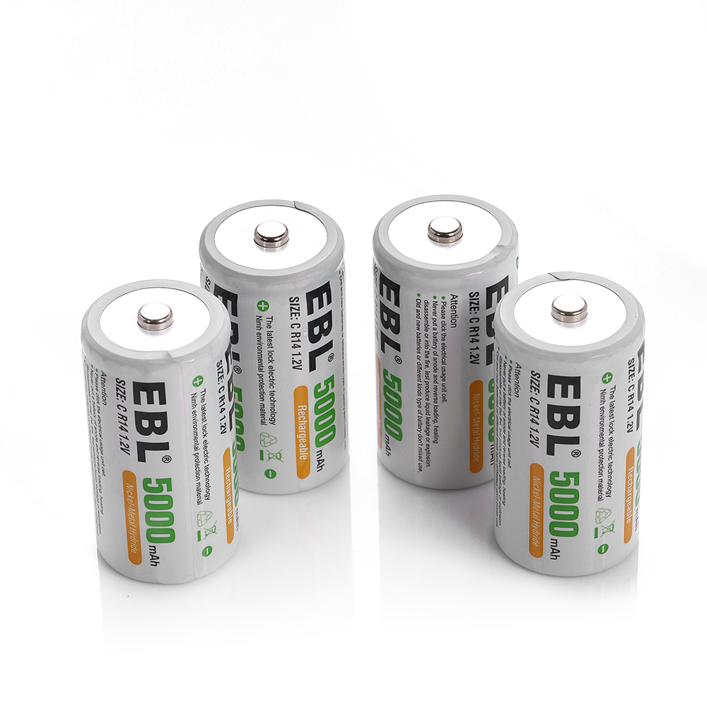 rechargeable c batteries 4 pack c type rechargeable. Black Bedroom Furniture Sets. Home Design Ideas