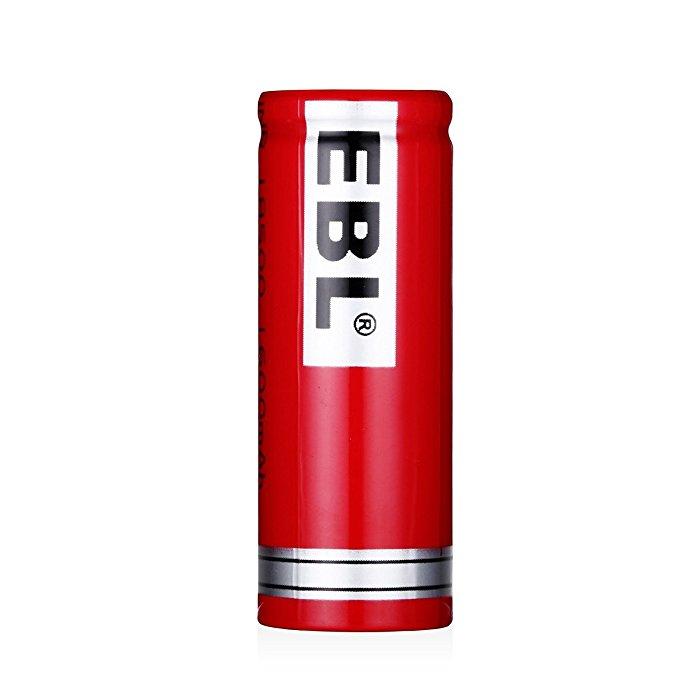 Ebl 18500 Li Ion Rechargeable Battery 3 7v 1600mah For Led