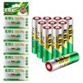 EBL 10-Pack 12V Alkaline Batteries for Doorbells Remote Control, 23A GP23AE MN21 23GA
