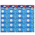 EBL CR2032 DL2032 ECR2032 Lithium Coin Cell Batteries for Watch Electronics 3V, 20-Count