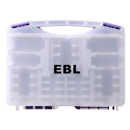 Multi Battery Storage Box for AA AAA C D Cells / Charger