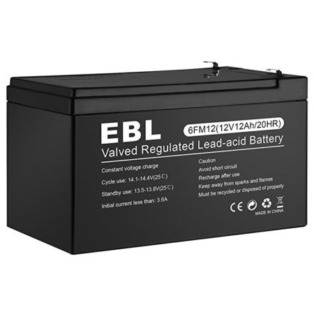 Safe 12 Volt 12Ah Sealed Lead Acid Battery