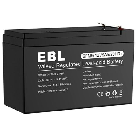 VRLA 12 Volt 9 Ah Sealed Lead Acid Rechargeable Battery