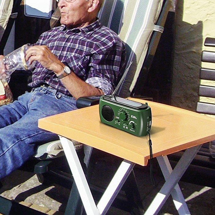 Portable Dynamo Emergency Solar Hand Crank Radio With Usb