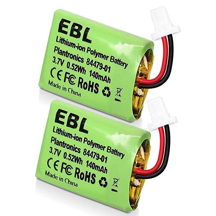 Ebl 2 Pack Cs540 84479 01 Replacement Plantronics Headset Battery For Cs540 84479 01 86180 01 Cs540a Cs540 C054 Wireless Headsets Eblmall Official Site